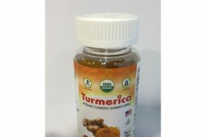 ORGANIC TURMERIC GUMMIES 300MG DIETARY SUPPLEMENT