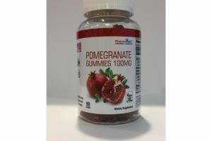 POMEGRANATE GUMMIES 100MG DIETARY SUPPLEMENT