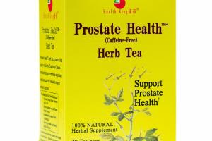 SUPPORT PROSTATE HEALTH 100% NATURAL HERBAL SUPPLEMENT TEA BAGS