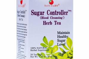 100% NATURAL SUGAR CONTROLLER BLOOD CLEANSING HERB TEA HERBAL SUPPLEMENT