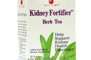 KIDNEY FORTIFIER 100% NATURAL HERBAL SUPPLEMENT HERB TEA BAGS