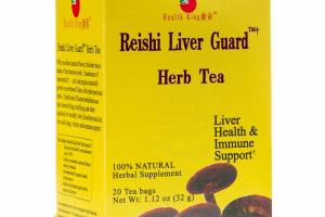 SUPPORT HEALTHY LIVER FUNCTIONS HERBAL SUPPLEMENT TEA BAGS
