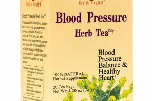 BLOOD PRESSURE HERB TEA BAGS HERBAL SUPPLEMENT