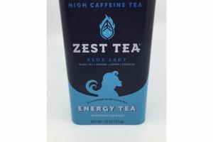 BLUE LADY BLACK TEA + ORANGE + LEMON + HIBISCUS ENERGY TEA