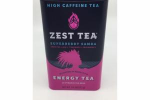 SUPERBERRY SAMBA HIGH CAFFEINE ENERGY TEA BAGS