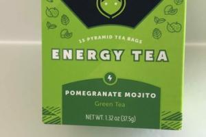 POMEGRANATE MOJITO ENERGY TEA
