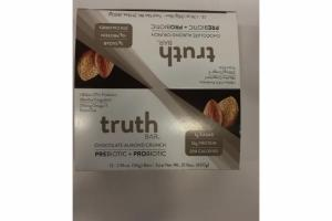 CHOCOLATE ALMOND CRUNCH PREBIOTIC + PROBIOTIC BARS