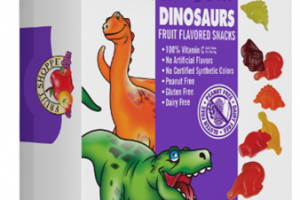 DINOSAURS FRUIT FLAVORED SNACKS