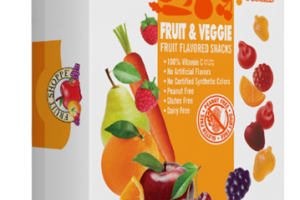 FRUIT & VEGGIE FRUIT FLAVORED SNACKS