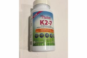 320MCG K2-7 WITH ULTRA ABSORPTION COMPLEX DIETARY SUPPLEMENT CAPSULES