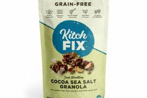 JUST STROLLING COCOA SEA SALT GRANOLA