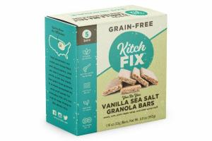 VANILLA SEA SALT GRANOLA BARS