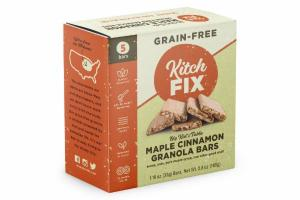 MAPLE CINNAMON GRANOLA BARS