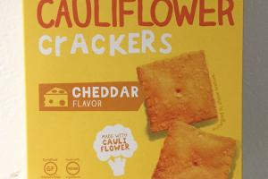 Cauliflower Crackers