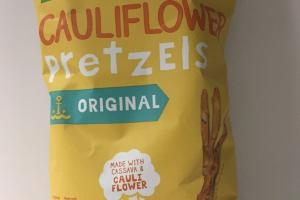 Cauliflower Pretzels