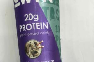 COOKIES'N CREAM PLANT-BASED DRINK