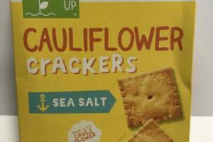 SEA SALT CAULIFLOWER CRACKERS