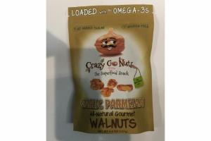 GARLIC PARMESAN ALL-NATURAL GOURMET WALNUTS