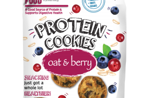 OAT & BERRY PROTEIN COOKIES