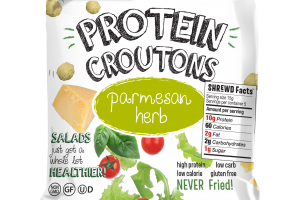 PARMESAN HERB PROTEIN CROUTONS