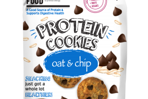 OAT & CHIP PROTEIN COOKIES