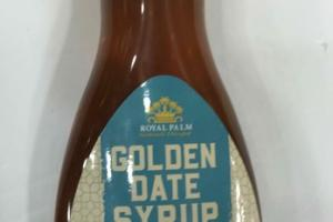 GOLDEN DATE SYRUP