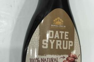 100% NATURAL NO ADDED SUGAR DATE SYRUP