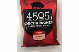 CLASSIC CHILI & SALT FRIED PORK RINDS