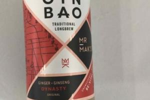 ORIGINAL DYNASTY GINGER + GINSENG TRADITIONAL LONGBREW