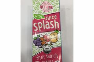 FRUIT PUNCH KIDS SPLASH JUICE DRINK