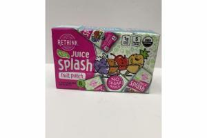 FRUIT PUNCH KIDS JUICE SPLASH DRINK