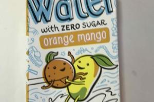 UN-SWEETENED ORANGE MANGO KIDS WATER WITH ZERO SUGAR