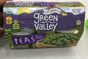 Organics Peas