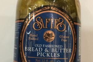 Old Fashioned Bread & Butter Pickles