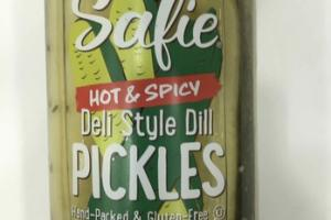 HOT & SPICY DELI STYLE DILL PICKLES
