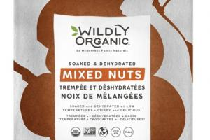 SOAKED & DEHYDRATED MIXED NUTS