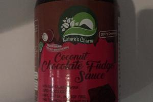 Coconut Chocolate Fudge Sauce