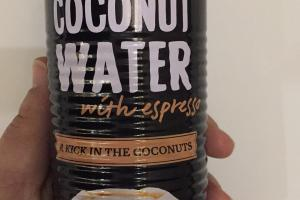 Coconut Water With Espresso