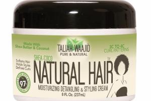 SHEA-COCO NATURAL HAIR MOISTURIZING DETANGLING & STYLING CREAM