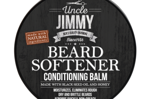 BEARD SOFTENER CONDITIONING BALM, BLACK SEED OIL AND HONEY