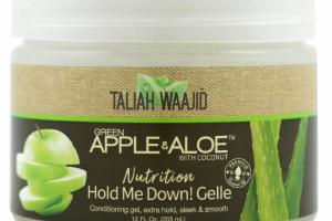 NUTRITION HOLD ME DOWN! GELLE GREEN APPLE & ALOW WITH COCONUT