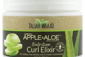 NUTRITION CURL ELIXIR, GREEN APPLE & ALOE WITH COCONUT