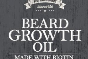 BEARD GROWTH OIL, COOL OAK