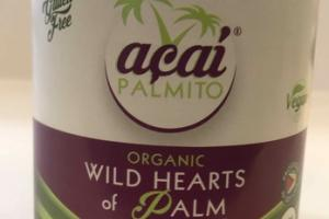 ORGANIC WILD HEARTS OF PALM