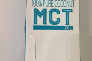 100% Pure Coconut Mct Oil