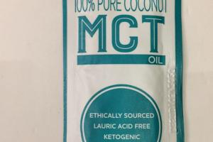 100% Pure Coconut Mct Oil