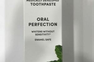 ORAL PERFECTION WHITENING TOOTHPASTE