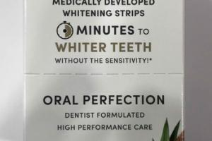 ORAL PERFECTION MEDICALLY DEVELOPED WHITENING STRIPS