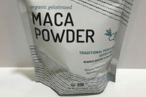 ORGANIC GELATINIZED TRADITIONAL  PERUVIAN SUPER ROOT MACA POWDER