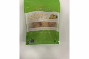PINEAPPLE ORGANIC SOLAR DRIED